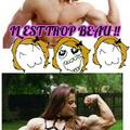 Du muscle de deux manières