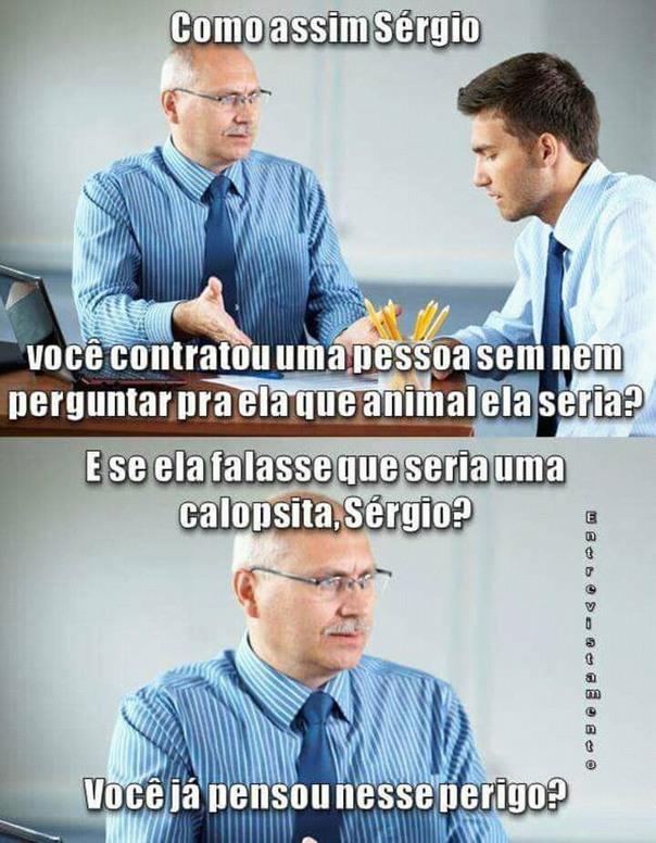 Porra Sérgio - meme