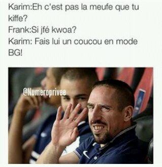 Ribery amoureux, fait un coucou en mode bg x) - meme
