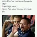 Ribery amoureux, fait un coucou en mode bg x)