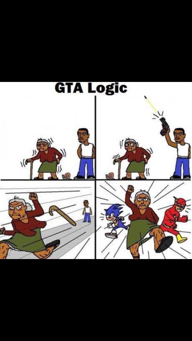 Gta logique - meme