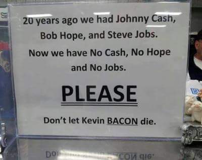 Please let there be bacon - meme