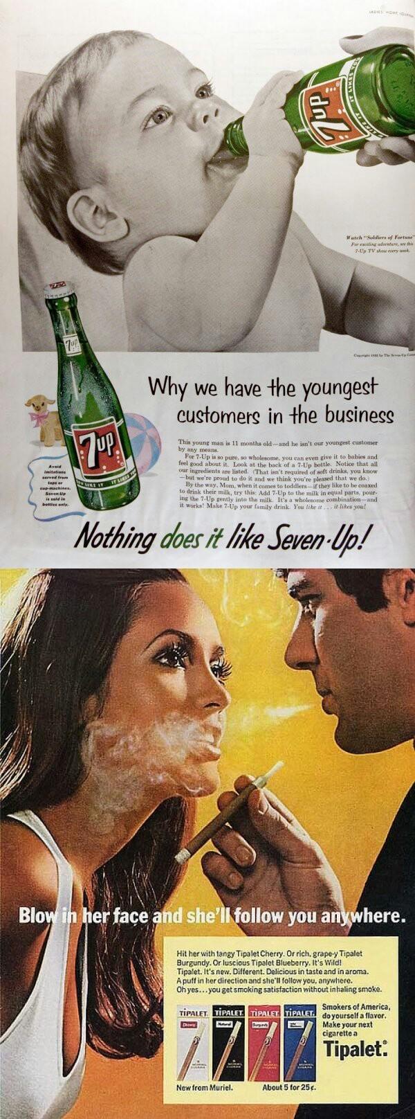 Vintage advertisements ¯\_(ツ)_/¯ - meme