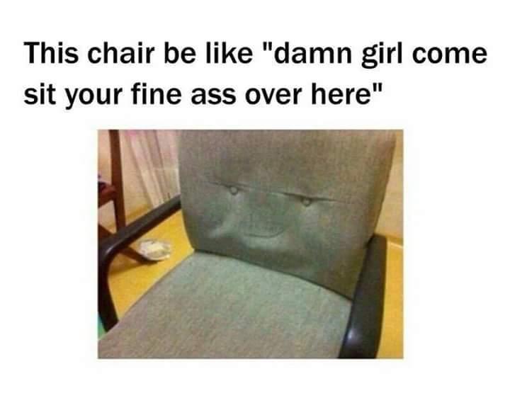 Thug Chair - meme