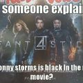 I can't remember a black jonny in any of the relevant universes