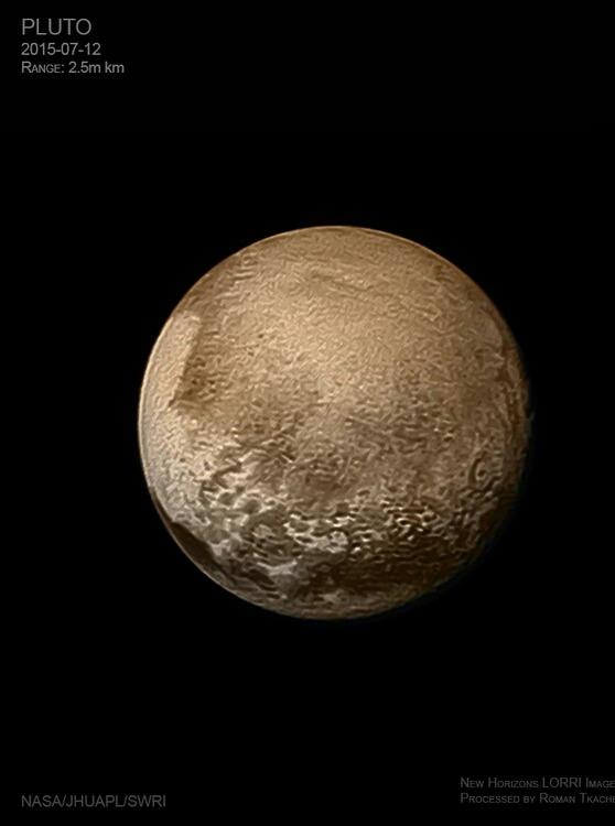 The latest image of Pluto!! - meme