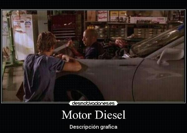 Motor Diesel - meme