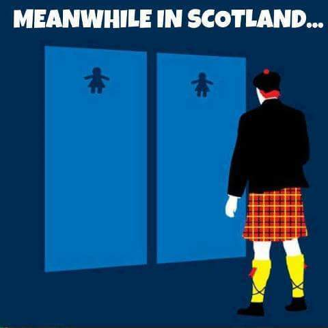 Only In Scotland - meme