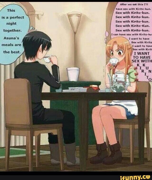 Sex with kirito-kun - meme