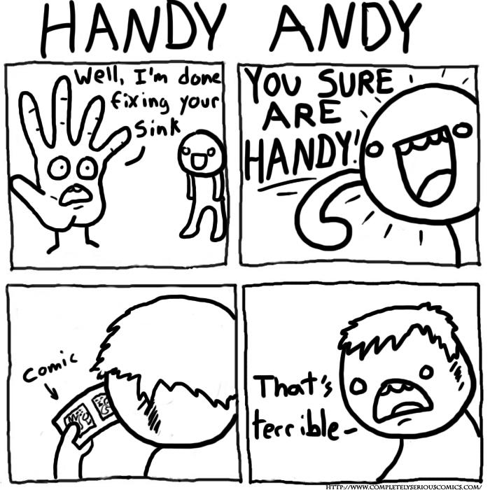 Hahah.. Handy ;-) - meme