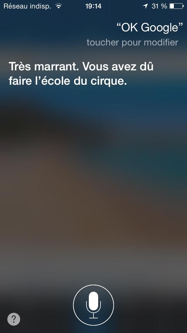 Quand je m'ennuie, je trolle Siri - meme