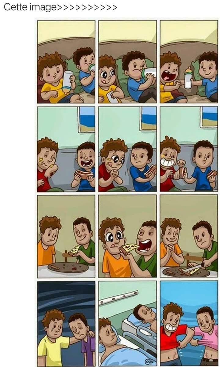 Le vraie amitié - meme