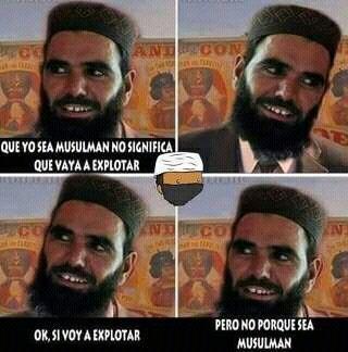 Tipico islamico - meme