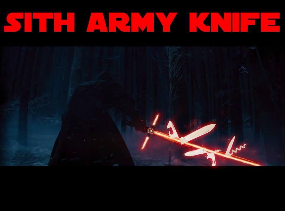 SITH ARMY KNIFE - meme