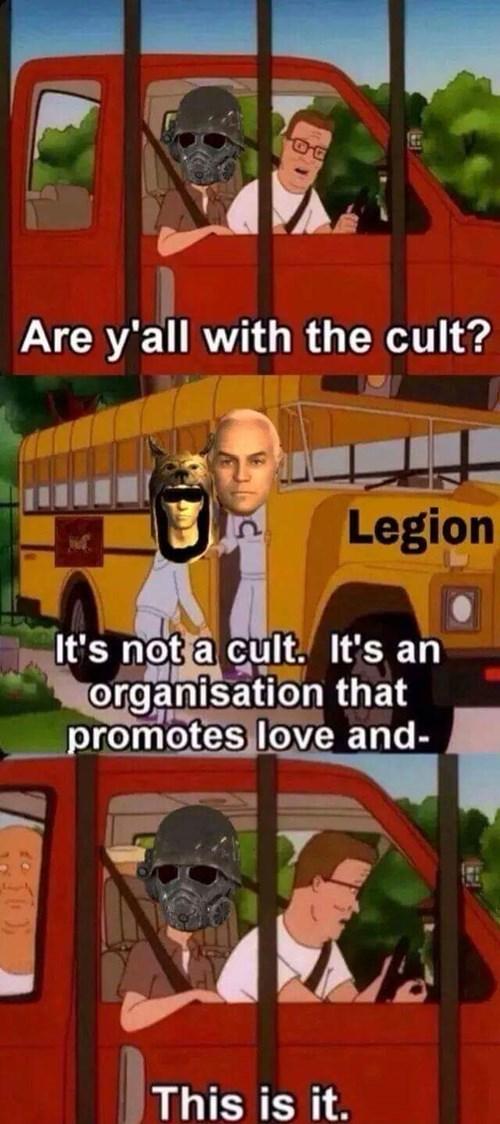 Love and Legion - meme