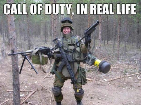 Pretty much a quickscoper. - meme