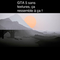 GTA 5 sans textures