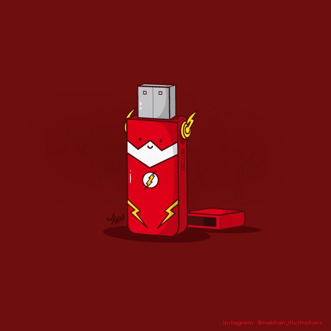 Flash drive - meme