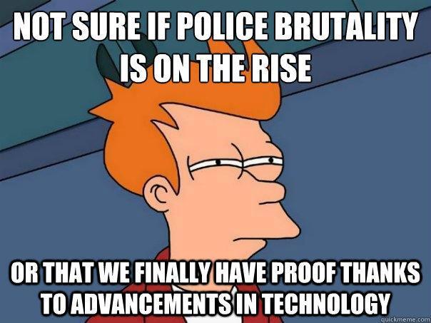 Police brutality - meme