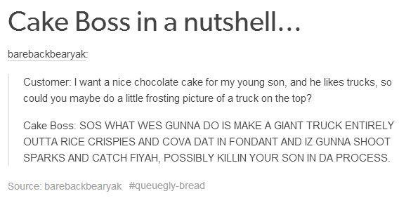 Cake Boss He takes Cake Making Serious! - meme