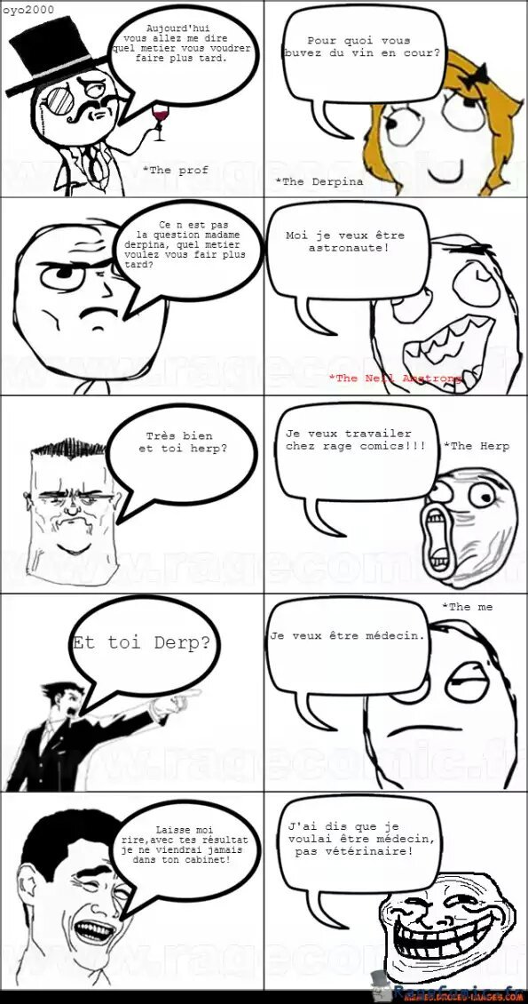 Pauvre prof - meme