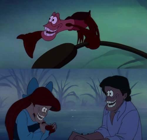 Mientras tanto en Disney xdd - meme