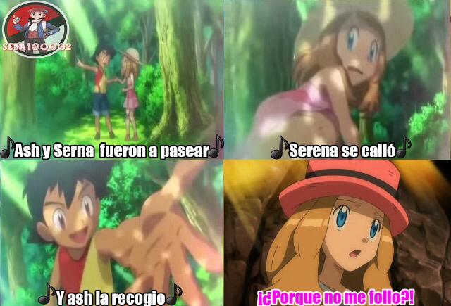 Ash, dejando en la frienzone desde tiempos remotos - meme