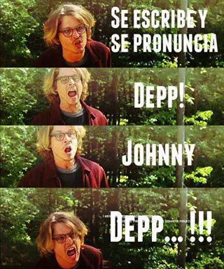 Johnny Depp *_* - meme