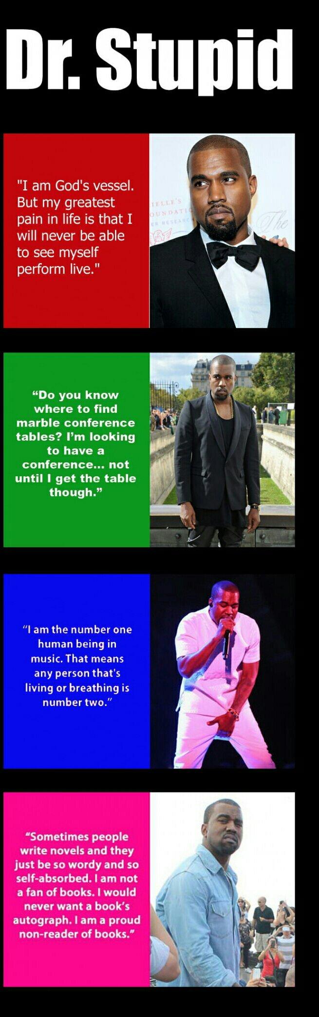 Kanye waste - meme