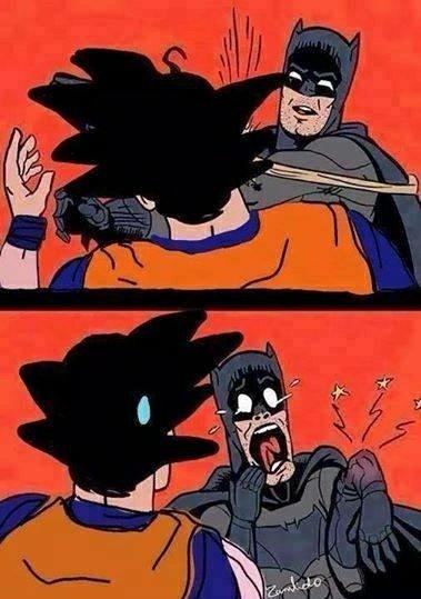Goku trop fort - meme