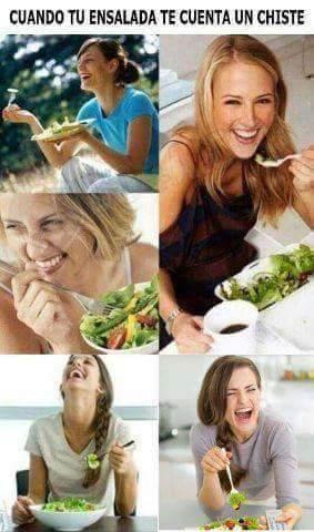 Esas ensaladas... - meme