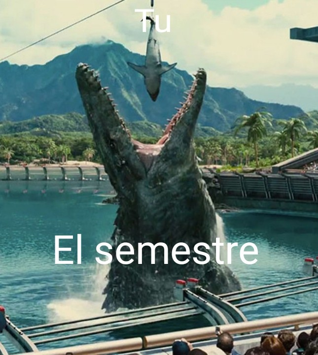 Tu en los estudios - meme