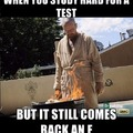 Walter white is disappointed