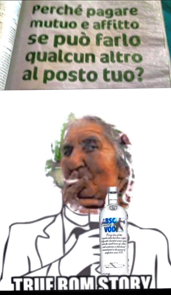 True rom story - meme