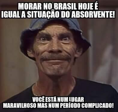 A solução é alugar o Brasil! (Mas não pro Seu Madruga) - meme