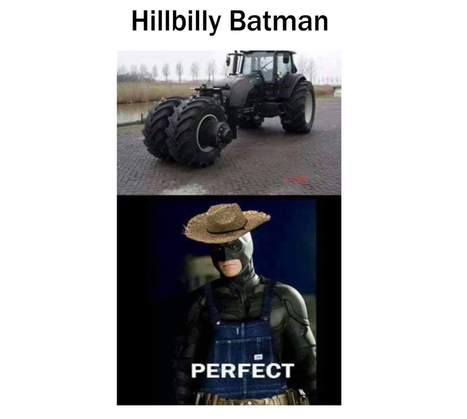 Hillbilly batman - meme
