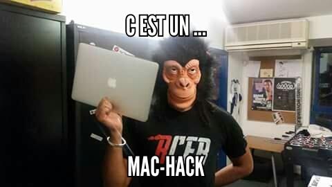Mac Hack - meme