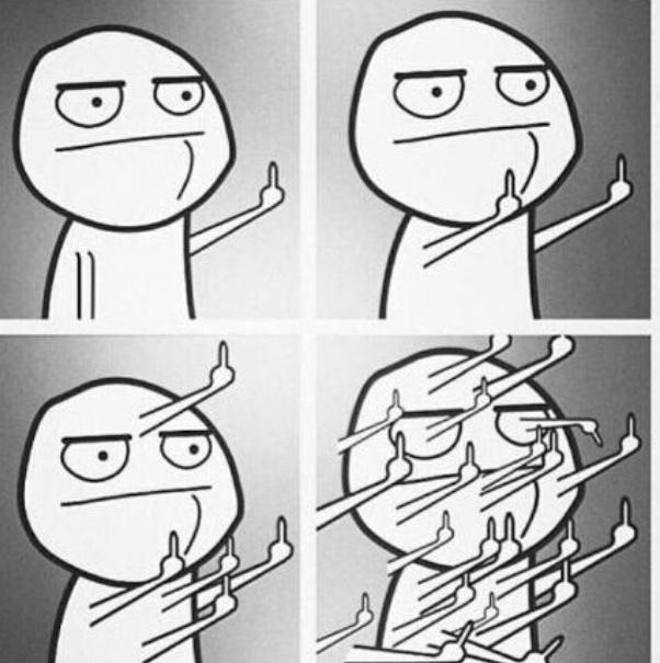 """You forgot to take up homework"" - meme"