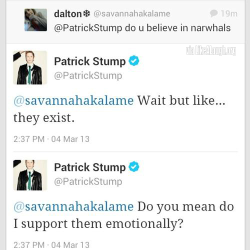 Ladies & gentlemen; Patrick stump. - meme