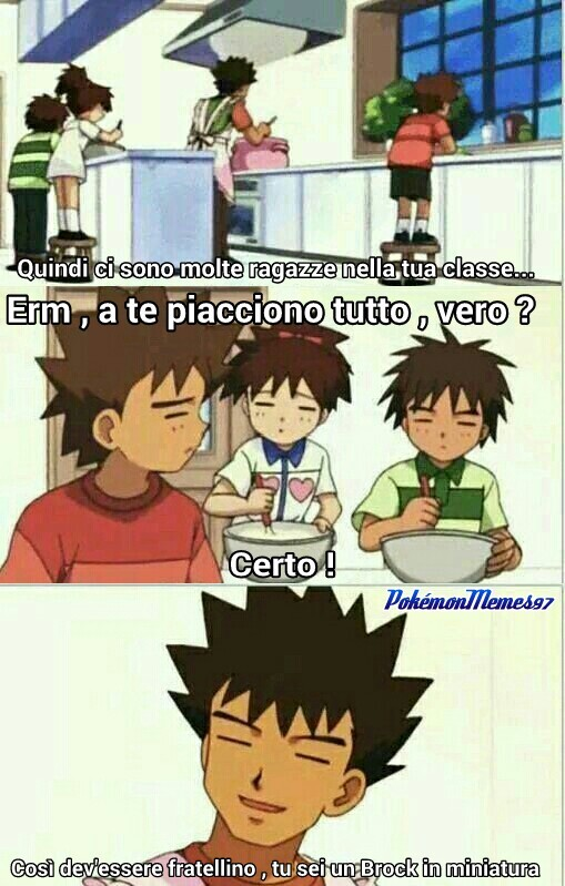 Piccoli Brock crescono... - meme