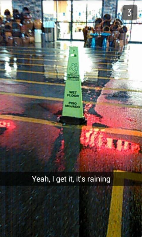 Raining - meme