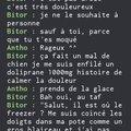"C'est ""porte"" ou ""putain"" la correction ? xDDD"