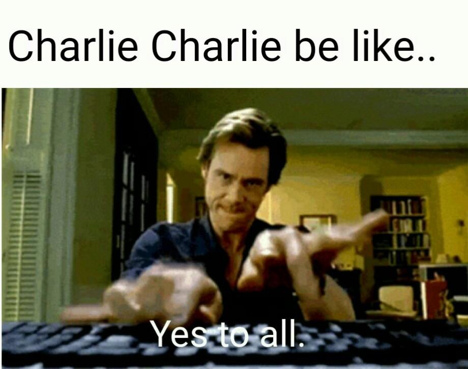 Charlie Charlie. - meme
