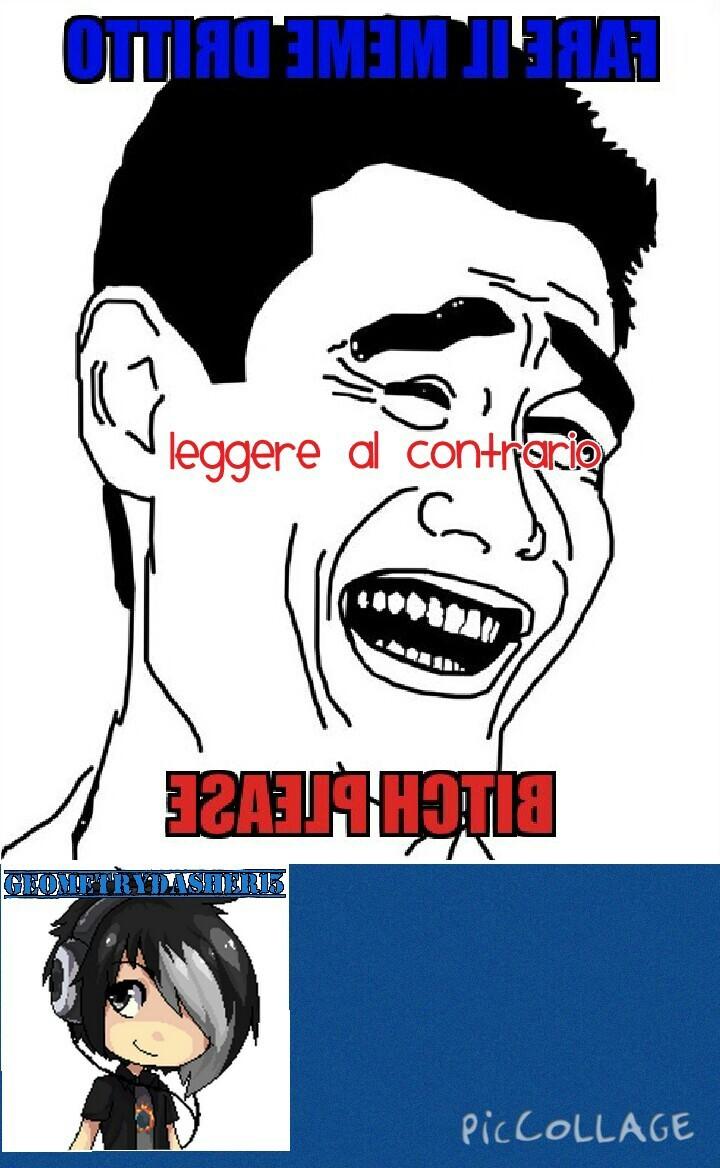 SE NON AVETE LETTO , PER CAPIRLO LO DOVETE LEGGERE AL CONTRARIO - meme
