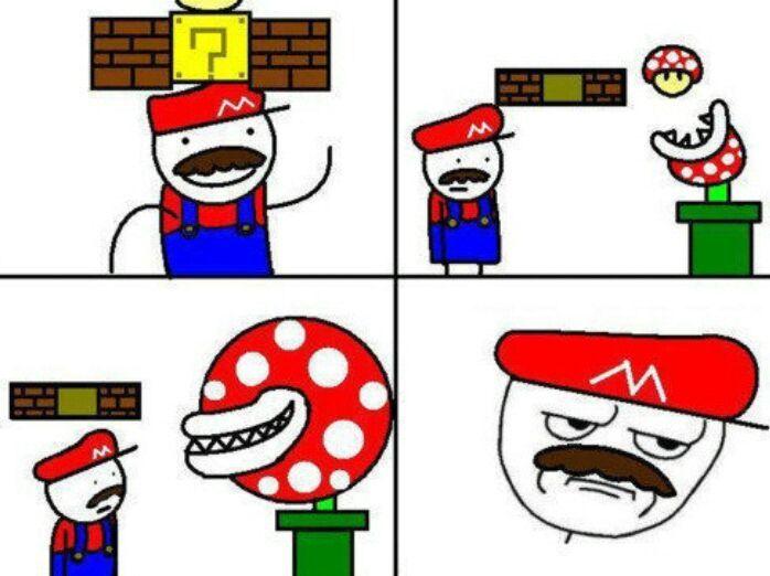 Mario noob - meme