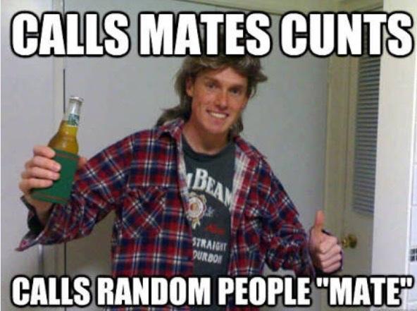 2nd comment is Australian mate - meme