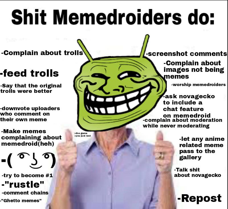 *triggered* - meme