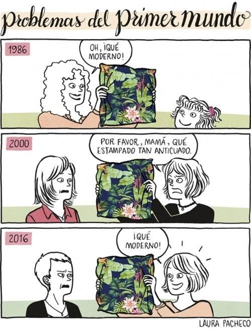 Problemas del primer mundo - meme
