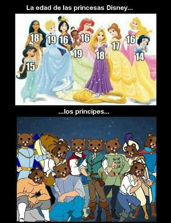 Príncipes Pedofilos :v - meme