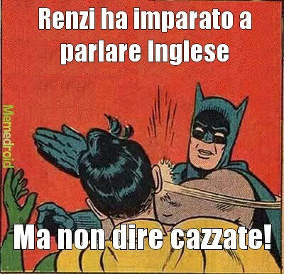 Renzi... - meme
